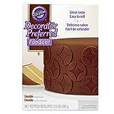 Wilton Decorator Preferred Chocolate Fondant, 24 oz. Fondant Icing