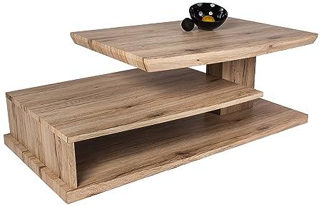 HL Design 01-03-121.3 Corinne Table basse en bois Chêne sable Sanremo 115,0 x 60,0 x 40,0 cm