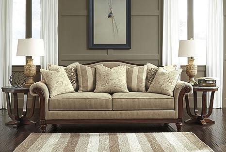 Signature Design by Ashley Berwyn View Quartz Sofa