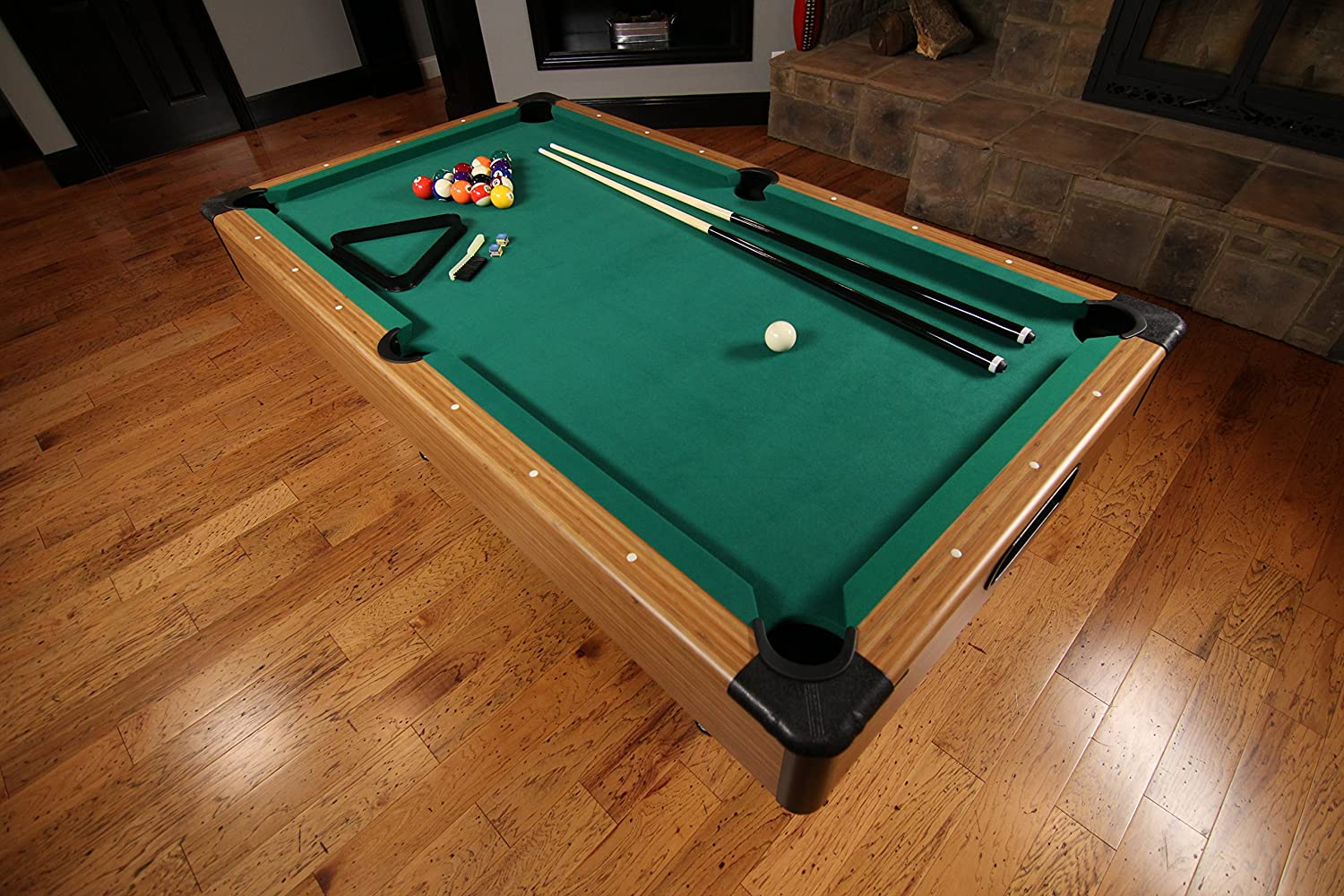 the black corner posts further accentuate its elegant look and really make it seem as if it fits in a room filled with world class players instead of your - How To Make A Pool Table