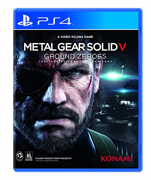 Metal Gear Solid V: Ground Zeroes, PS4