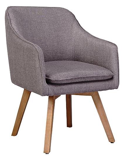 Mein Sessel Skagen VI Klassiker Skandinavien-Design, taupe