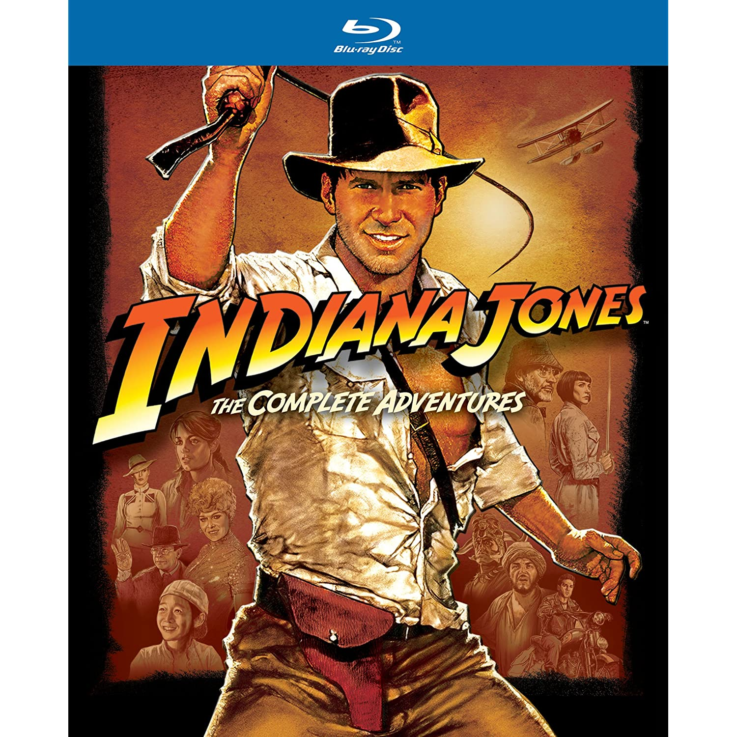 Indy Jones on Blu-Ray