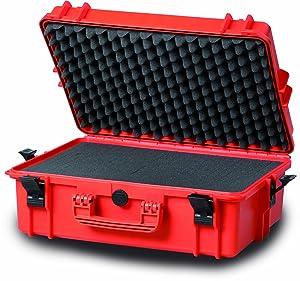 Wasserdichter und Staubdichter Koffer mit Zupfschaum im Boden und Noppenschaum im Deckel + Gratis Umhängegurt  BaumarktÜberprüfung und weitere Informationen