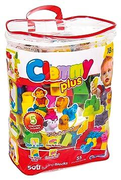 Clemmy Plus Sac 50 Blocs avec 5 Personnages