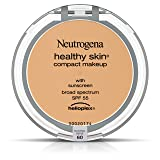 Neutrogena Healthy Skin Compact Makeup Foundation,  Broad Spectrum Spf 55, Natural Beige 60, .35 Oz. (Color: 60 / Natural Beige, Tamaño: .35 OZ)