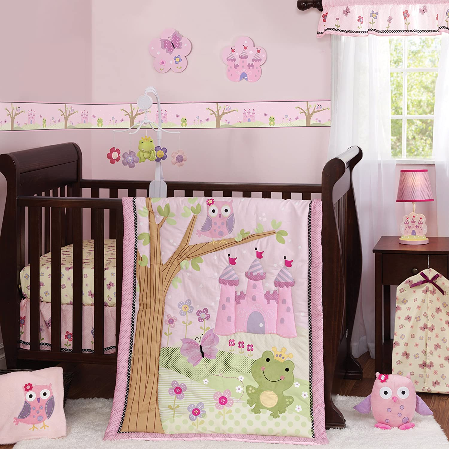 Bedtime originals magic kingdom crib bedding collection Baby girl bedding