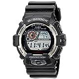 Casio Men's GR-8900-1CR Tough Solar G-Shock Digital Display Quartz Black Watch (Color: Black/Black)