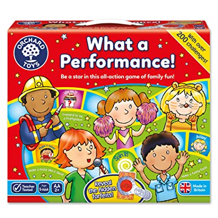 Orchard Toys - Jeu d'imitation - What a Performance ! - Langue : anglais