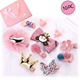 Little Angels Baby Hair Clips Hair Accessories Toddlers Kids Gril Hair Clips Bows Barrettes Hairpins Set (Pink-Pricess) (Color: Pink-pricess, Tamaño: Small)