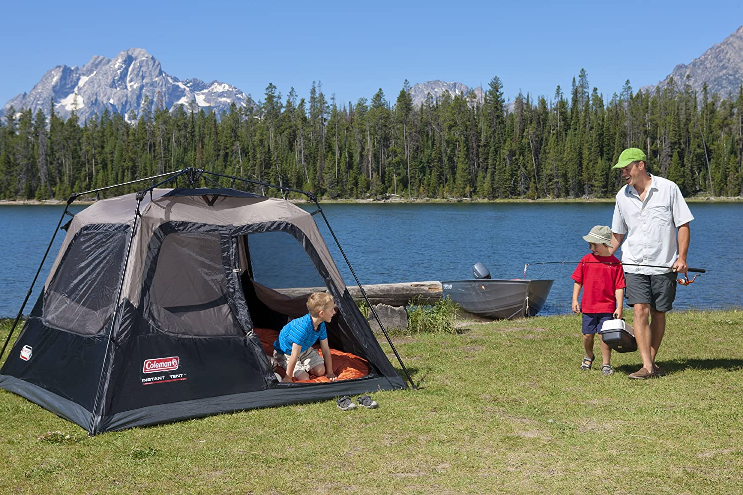 coleman instant tent & Coleman 4 Person Instant Tent Review - Traveling Monarch
