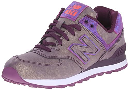 CHAUSSURE DE SPORT PURPLE MGA NEW BALANCE WL574