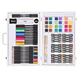 Studio 71 Kids Art Set in Wood Case: 82 pieces Box color may vary (Tamaño: 82 Pc Color May Vary)