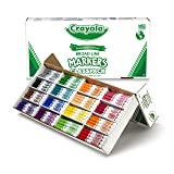 Crayola Broad Line Markers Bulk, 256 Count Classpack (Color: Assorted)