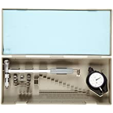 "Mitutoyo 511-325 Dial Bore Gauge, 4-6.4"" Range, 0.0005"" Graduation, +/-0.0002"" Accuracy, With Micrometer Head Type"