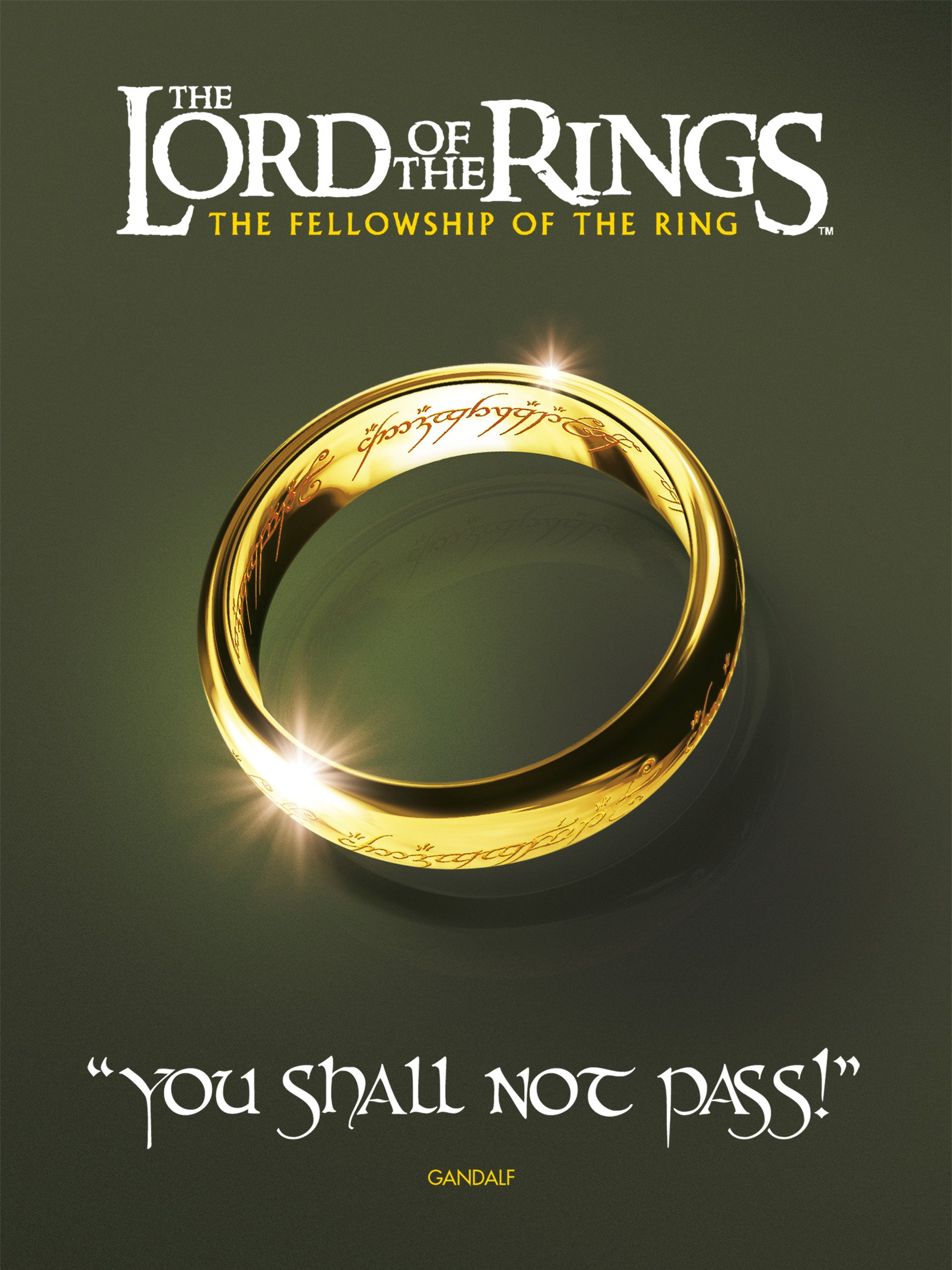 Lord of the Rings: The Fellowship of the Ring on Amazon Prime Instant Video UK