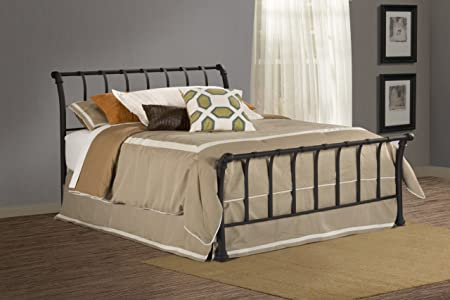 Hillsdale Janis Bed Set - Full - Rails Not Included Textured Black