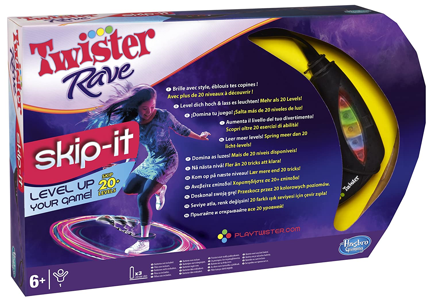 Twister Rave Hasbro
