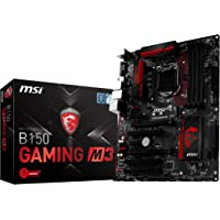 MSI Gaming B150 M3 LGA Intel SATA 6Gb/s USB 3.1 ATX Motherboard