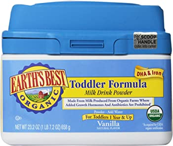 Earth's Best Organic Toddler Formula