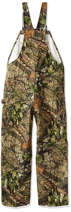 Carhartt Men's Big and Tall Big & Tall Quilt Lined Camo Bib Overalls, Mossy Oak Break up Country, Large (Color: Mossy Oak Break Up Country, Tamaño: Large Tall)