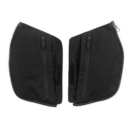 Clover 99121504_ 02Pockets Kit-Bare alternatif poches pour Cross Over-3Veste de moto Noir Taille S