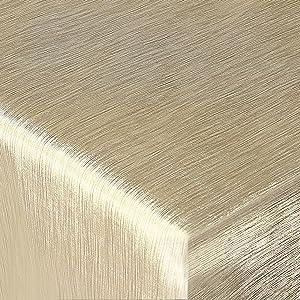 Festliche Wachstischdecke Texture | gold glänzend | abwaschbar | Meterware (2000x137cm)  BaumarktBewertungen