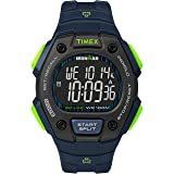 Timex Men's TW5M18800 Ironman Classic 30 Blue/Lime/Negative Resin Strap Watch
