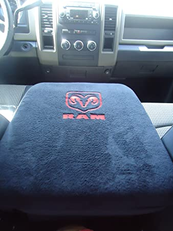 TRUCK CENTER ARMREST CONSOLE COVER EMBROIDERED 1998-2013 ALL DODGE RAM *
