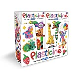 Kahootz 01250 Plasticine-18 Units of 6 Color Play Packs (Pack of 18)