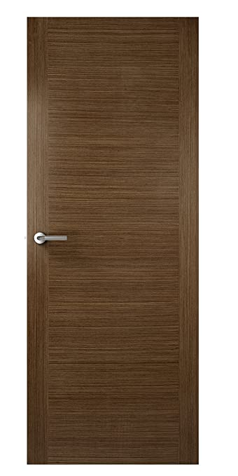 Premdor 33211 762 x 1981 x 35 mm 2 Stile Veneer Match Solid Core Interior Door - Walnut
