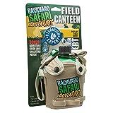 Backyard Safari Field Canteen (Color: Green, Tamaño: 7 oz)