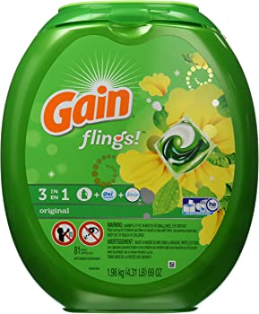 Gain Flings Laundry Detergent Pacs (81-Ct.)