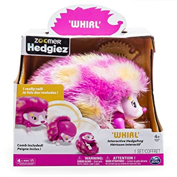 Zoomer - 6031225 - Animal Interactif - Hedgiez Whirl