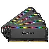 Corsair Dominator Platinum RGB 64GB (4x16GB) DDR4 3466 (PC4-27700) C16 1.35V Desktop Memory - Black (Tamaño: 64 Gb)