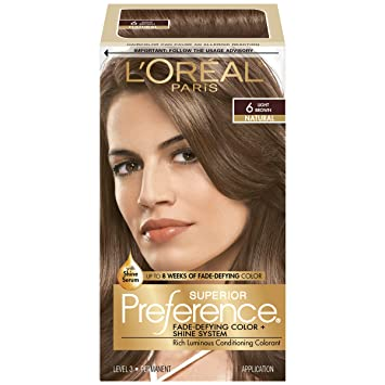 Buy L'Oreal Preference Hair Color - Light Brown Online at Low ...