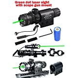 Ledsniper®hot Useful Brand New Tail Cap Switch Green Dot Laser Sight Outside Adjust Rifle Gun Scope 2 Switch with Pressure Swithc Wholekits