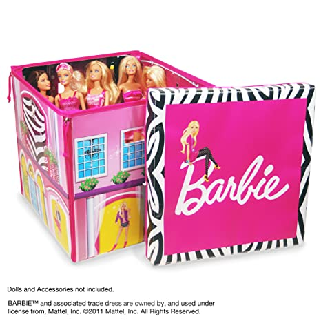 Toys and games for girls:  Neat-Oh! Barbie ZipBin Dream House Toybox & Playmat