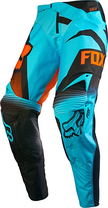 Pantalon Motocross Fox 2016 360 Shiv Rouge-Blanc