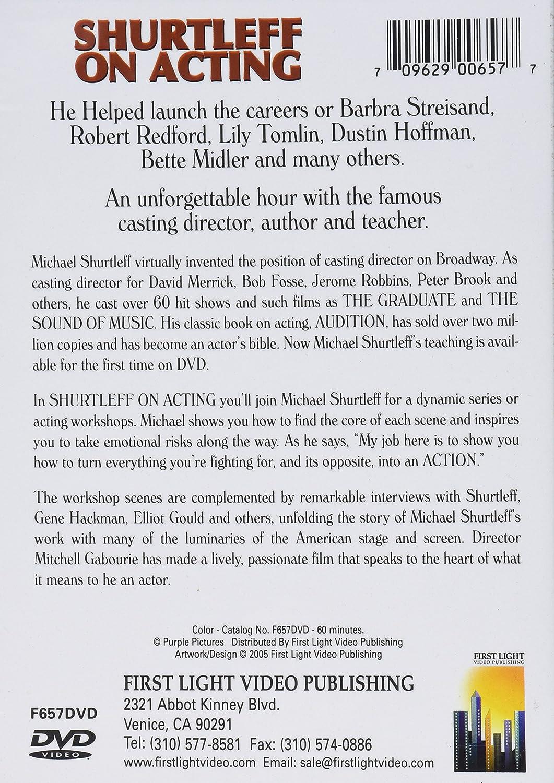 Shurtleff on Acting [DVD] [1994]