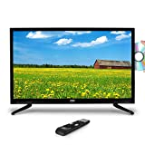 Premium 40 Inch LED TV - 40inch LED Backlight Flat Screen Television - Hi-Res 40in 1080p Ultra HD TV w/HDMI, RCA, RF Antenna DVD Player - Remote Control, VESA Wall Mount Compatible - Pyle (Color: Black, Tamaño: 40 inches)