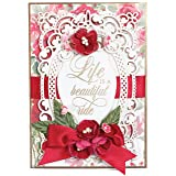 Spellbinders Shapeabilities Annabelle's Trousseau Layering Frame Medium Etched/Wafer Thin Die