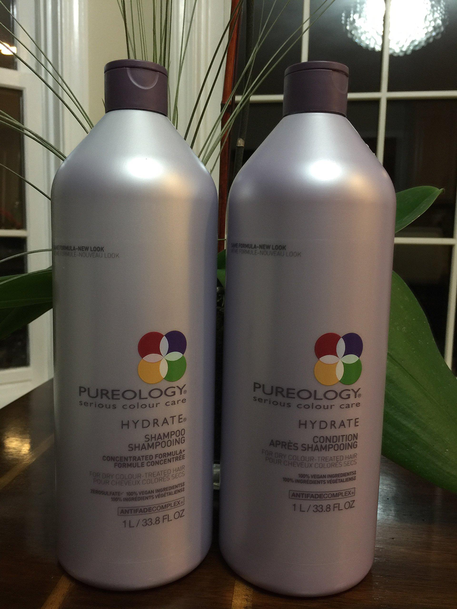 Pureology Hydrate Shampoo 33.8 oz and...