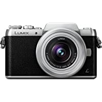 Panasonic DMC-GF7 16MP Compact System Camera 180 Degree Titable Monitor for Selfie (Black)