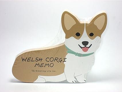 Minor Cuts on Dogs Welsh Corgi Dog Die-cut Memo
