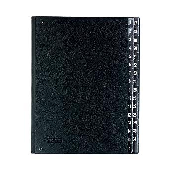 herlitz10421519classeur souffletsoufflet1 31 noir import allemagne. Black Bedroom Furniture Sets. Home Design Ideas