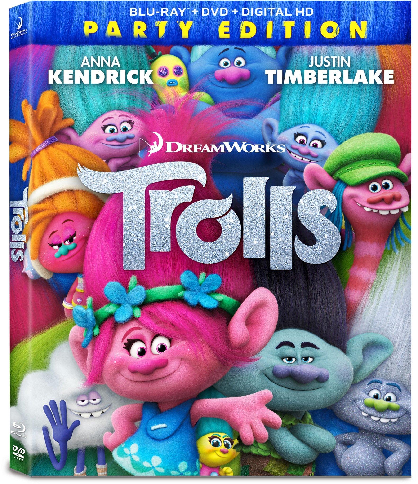 Trolls Blu Ray