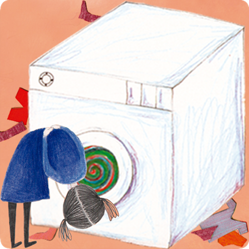 An imaginary story about Emma: Adventure in an Washing Machine