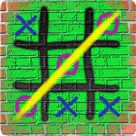 Tic Tac Toe Graffiti