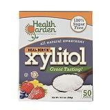 Health Garden Xylitol Sugar Free Sweetener, All Natural Non GMO Kosher Sugar Substitute, 50 Packets